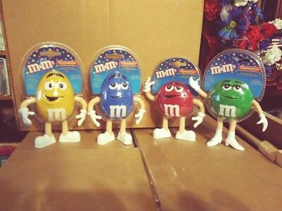 M&Ms Yellow, Blue, Red & Green Bendables