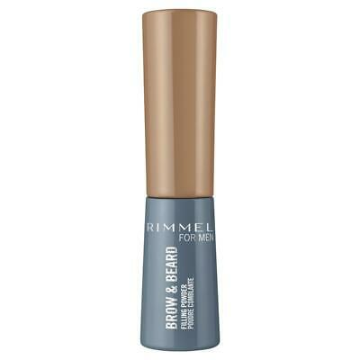 Rimmel Mens Brow & Beard Powder 001 Light Brown