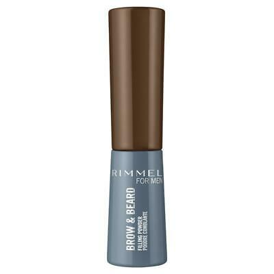 Rimmel Mens Brow & Beard Powder 002 Medium Brown