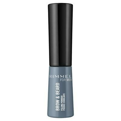 Rimmel Mens Brow & Beard Powder 004 Black