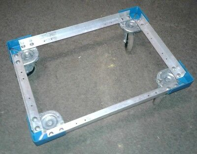 Carlisle Cateraide PC300N End-Loading Food Pan Carrier Dolly, Aluminum. Our #2