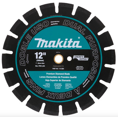 Makita 12 inch Premium Diamond Circular Saw Blade Concrete Brick Cutter Tool New