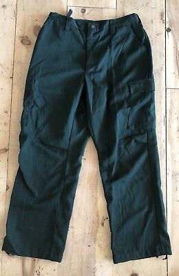 FSS ARAMID WILDLAND FIREFIGHTER FORESTRY PANTS Size 34-38x34 Made in USA