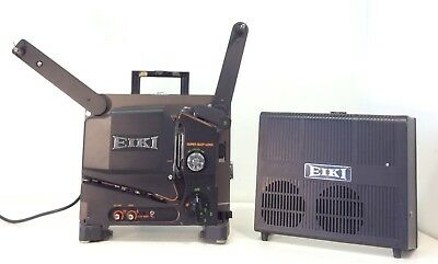 EIKI Industrial Vintage SUPER SLOT LOAD II Model SL-1 16mm Sound Projector