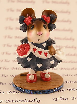 MISS LIBERTY by Wee Forest Folk, WFF# M-307, RWB w/hearts, Mouse Expo