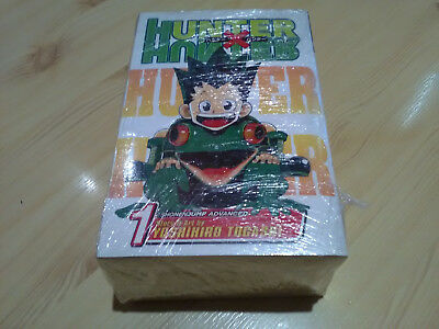 Hunter x Hunter manga volume 1 to 10. Excellent condition, like new.