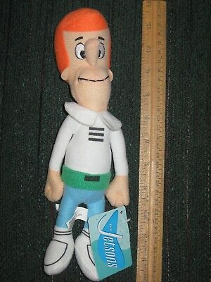 "The Jetsons Plush Stuffed Doll George Jetson 11"" With Tag"