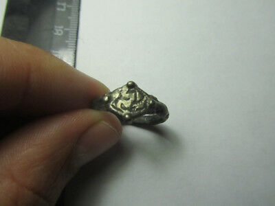 Medieval  ring.   Metal detector finds  100% original