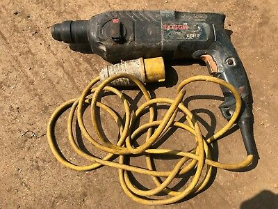Bosch SDS Plus Hammer Drill 110 volt working but well used