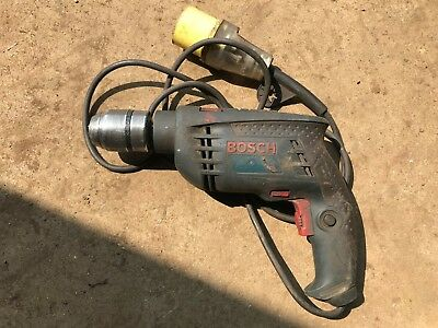Bosch twist percussion Drill GSB .13 RE Professional 110V. chuck worn see photos