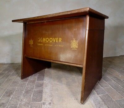 Rare Vintage Hoover Haberdashery Desk Cabinet Counter Table Cupboard Shop Work