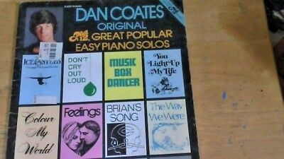 Rare Copy of Dan Coats 1980 Easy Piano Solos
