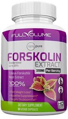 Forskolin Maximum Strength 100% Pure 3000mg Rapid Results! Forskolin Extract