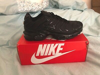 af10dfe754 NIKE AIR MAX plus Tn triple black Brand new boxed limited size 6,7,8 ...