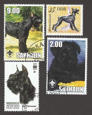 GIANT SCHNAUZER ** Int'l Dog Stamp Collection ** Great Gift Idea*