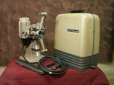Vintage Bell & Howell 16mm Projector Design 273 Model A Works