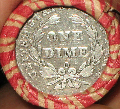 """Wheat Penny Roll """"o"""" Mint Pre 1840 Seated Liberty Dime & Ih Rev R732"""