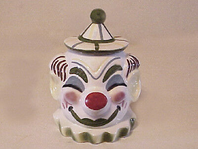 Vintage clown cookie jar by gibson greeting cards inc 3000 vintage 1950s starnes of california clown head cookie m4hsunfo
