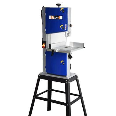10-Inch Two-Speed Band Saw with Stand and Worklight EJWOX Brand