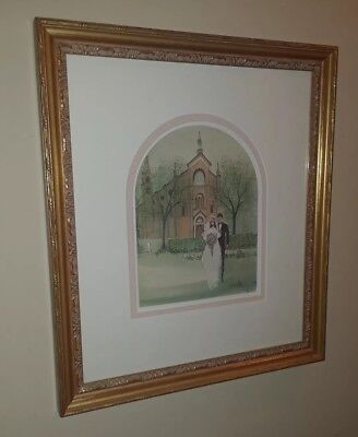 P.buckley Moss Hand Signed, Numbered, Dated, Limited Edition Color Print