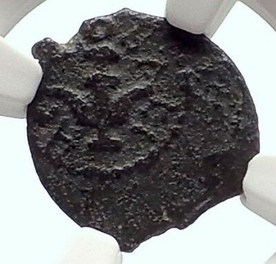 Jewish King HEROD the GREAT JESUS CHRIST BIRTH Biblical Ancient Coin NGC i70640