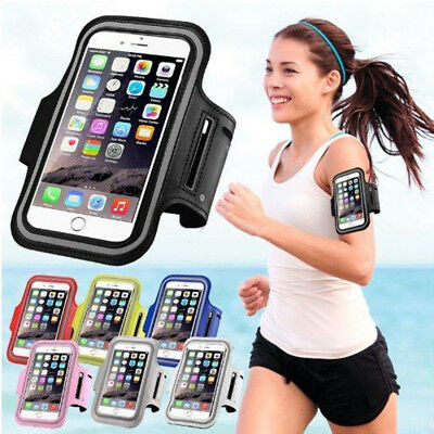 iPhone X /8 /7/ Plus Sport Running Armband Jogging Gym Arm Band Pouch Holder Bag