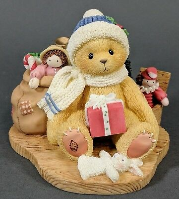 MINT Cherished Teddies Evan - May Your Christmas Be Trimmed In Happiness 484822