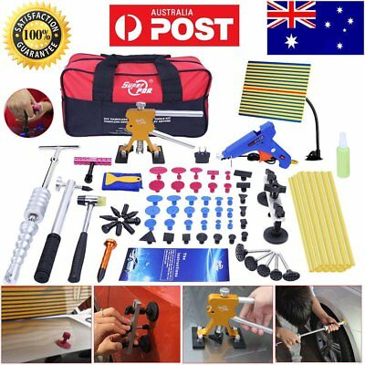 78× Paintless Hail Removal PDR Tools Dent Puller Lifter Line Board Auto Body Kit