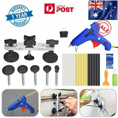 78×Paintless Hail Removal PDR Tools Dent Puller Lifter Line Board Auto Body Kit