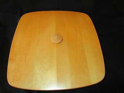BASKET ACCESSORIES Wooden Wood Lid for Longaberger Small Wash Day Basket