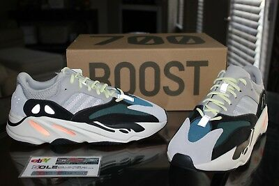2da3000549cd4 DEADSTOCK ADIDAS YEEZY Boost Wave Runner 700 Solid Grey B75571 Size ...