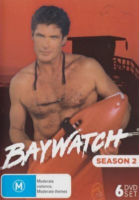 Baywatch Season 2 DVD 6-Disc Set New and Sealed Australia All Regions