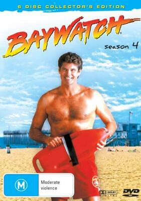 Baywatch Season 4 DVD 6-Disc Set New and Sealed Australia All Regions