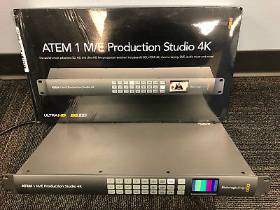 Blackmagic Design ATEM 1 M/E Production 4K Switcher