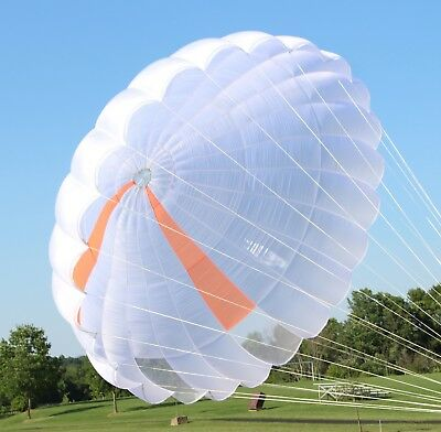Parachutes Australia 26ft LoPo Conical Round reserve skydiving parachute canopy