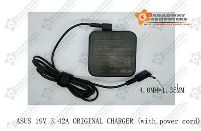 Original Genuine Adapter Charger for Asus laptops 19V 3.42A 65w 4.0mmx1.35mm