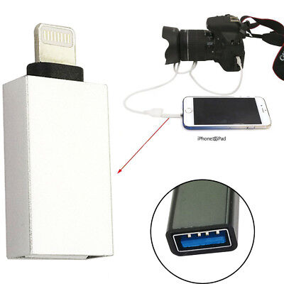 [OTG Adapter] Lightning 8 Pin Male to USB 3.1 Female Converter- iOS  9.2 to 10.2
