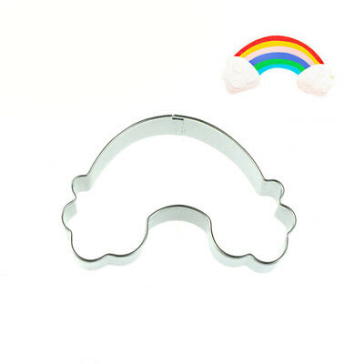 Rainbow Shape Cookie Cutter Stainless Steel Fondant Mold Cake Decorating Tool M&