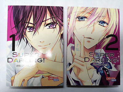 Super Darling! 1-2 - komplett - Aya Shouoto - Carlsen Manga - Shoujo
