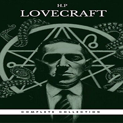 ULTIMATE H. P. Lovecraft Collection 30+ Audiobooks on 1 MP3 DVD