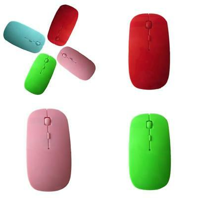 2.4GHz Ultrathin Wireless Optical Mouse 1200DPI USB For PC Laptop Computer Mice