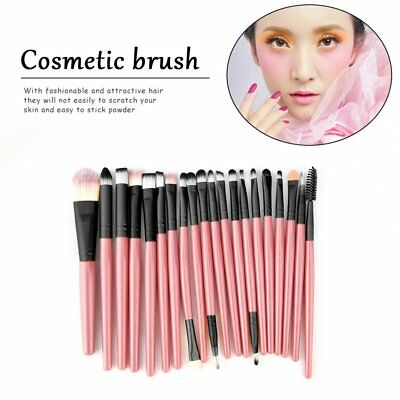 20PCS/Kit Makeup Blending Brushes Set Cosmetic Make Up Brush Beauty ToolsXM
