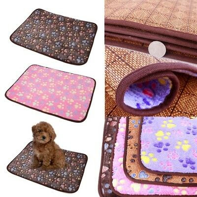 House Puppy Pet Cat Dog Warm Bed Soft Cozy Nest Mat Pad Kennel for Dog Gift
