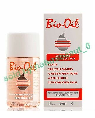 Bio Oil for Scars,Stretch Marks, aging,uneven Skin 60ml /Free shipping worldwide