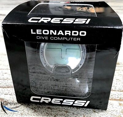 Cressi LEONARDO Tauchcomputer black/yellow ! TOP PREIS ! NEU !