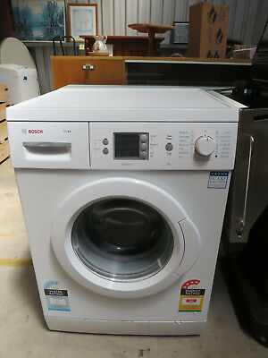 Bosch Front Load Washing Machine, Near New, 7 KG, White in Colour, Maxx, aquasec