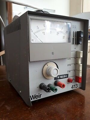 Weir 413 Variable Bench DC Power Supply 30V 6A