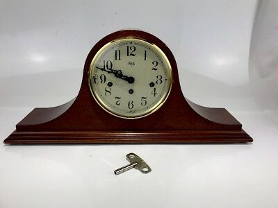 Sligh Mantle Clock Franz Hermle Germany Movement Westminster Perfect Time German