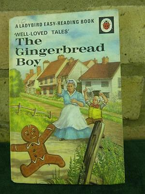 Vintage Ladybird book The Gingerbread Boy Well loved tales price 18p net