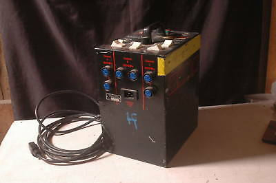 Speedotron 2403CX 2400ws Power Supply Works Great!  WITH AIR  CASE